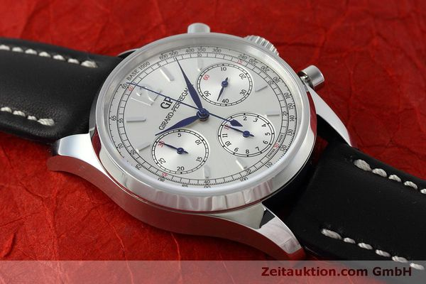 Used luxury watch Girard Perregaux * chronograph steel automatic Kal. Selita  300 Ref. 49480  | 152565 14