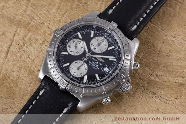 Used luxury watch Breitling Crosswind chronograph steel automatic Kal. B13 ETA 7750 Ref. A13355  | 152569 01