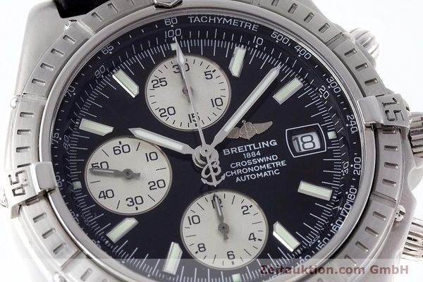 Used luxury watch Breitling Crosswind chronograph steel automatic Kal. B13 ETA 7750 Ref. A13355  | 152569 02