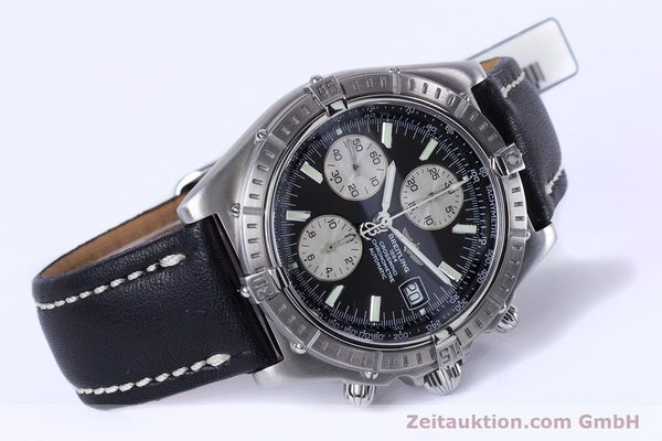 Used luxury watch Breitling Crosswind chronograph steel automatic Kal. B13 ETA 7750 Ref. A13355  | 152569 03