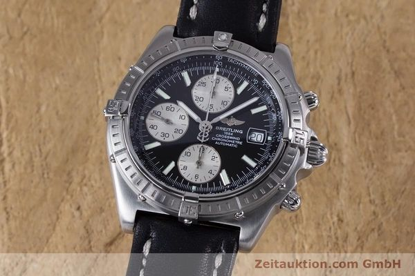 Used luxury watch Breitling Crosswind chronograph steel automatic Kal. B13 ETA 7750 Ref. A13355  | 152569 04