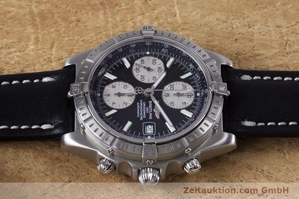 Used luxury watch Breitling Crosswind chronograph steel automatic Kal. B13 ETA 7750 Ref. A13355  | 152569 05