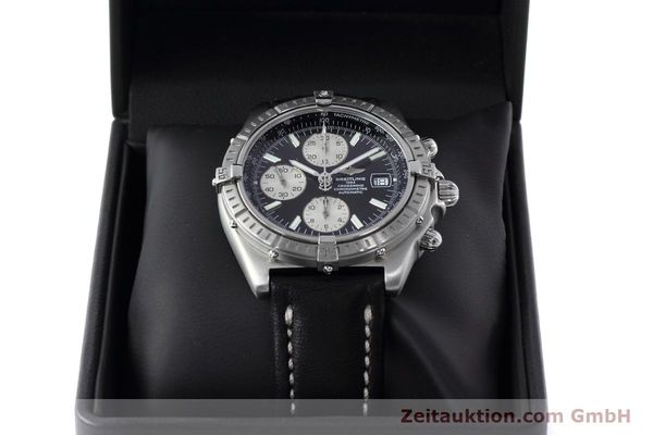 Used luxury watch Breitling Crosswind chronograph steel automatic Kal. B13 ETA 7750 Ref. A13355  | 152569 07