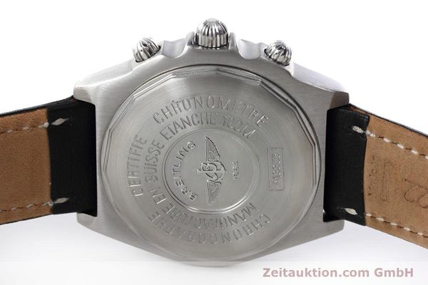 Used luxury watch Breitling Crosswind chronograph steel automatic Kal. B13 ETA 7750 Ref. A13355  | 152569 09
