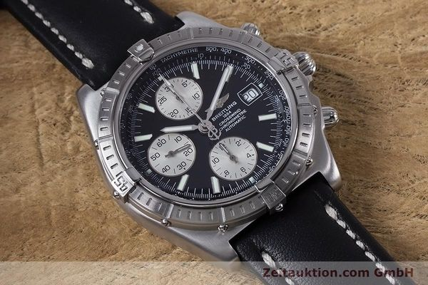 Used luxury watch Breitling Crosswind chronograph steel automatic Kal. B13 ETA 7750 Ref. A13355  | 152569 13