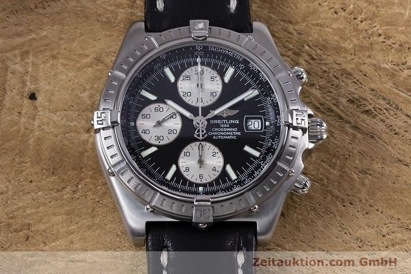 Used luxury watch Breitling Crosswind chronograph steel automatic Kal. B13 ETA 7750 Ref. A13355  | 152569 14