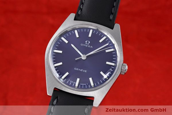 Used luxury watch Omega * steel manual winding Kal. 601 Ref. 135041  | 152572 04
