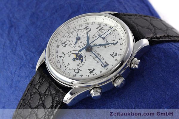 Used luxury watch Longines Master Collection chronograph steel automatic Kal. L678.2 ETA 7751 Ref. L2.673.4  | 152574 01