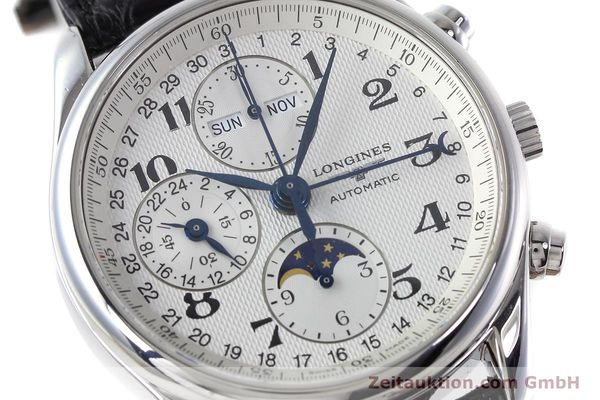 Used luxury watch Longines Master Collection chronograph steel automatic Kal. L678.2 ETA 7751 Ref. L2.673.4  | 152574 02