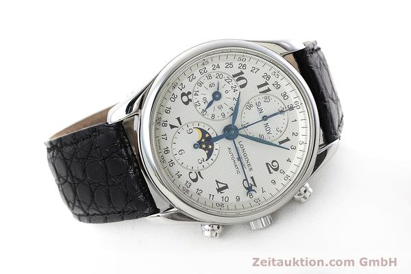 Used luxury watch Longines Master Collection chronograph steel automatic Kal. L678.2 ETA 7751 Ref. L2.673.4  | 152574 03