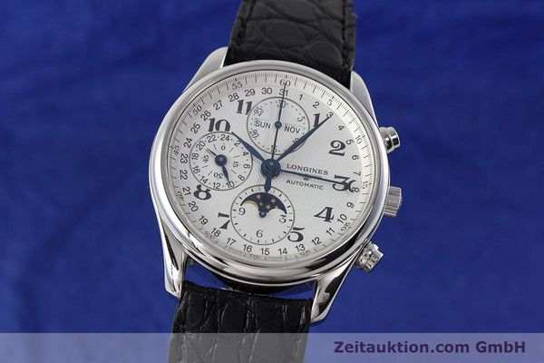 Used luxury watch Longines Master Collection chronograph steel automatic Kal. L678.2 ETA 7751 Ref. L2.673.4  | 152574 04