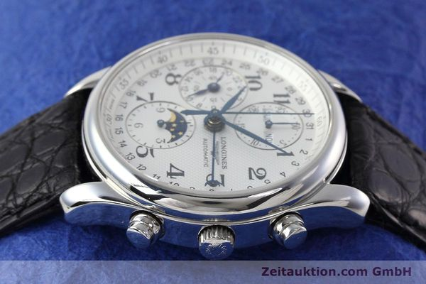 Used luxury watch Longines Master Collection chronograph steel automatic Kal. L678.2 ETA 7751 Ref. L2.673.4  | 152574 05