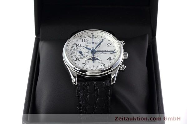 Used luxury watch Longines Master Collection chronograph steel automatic Kal. L678.2 ETA 7751 Ref. L2.673.4  | 152574 07