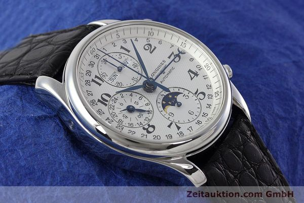 Used luxury watch Longines Master Collection chronograph steel automatic Kal. L678.2 ETA 7751 Ref. L2.673.4  | 152574 13