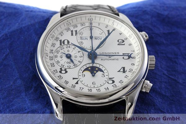 Used luxury watch Longines Master Collection chronograph steel automatic Kal. L678.2 ETA 7751 Ref. L2.673.4  | 152574 14