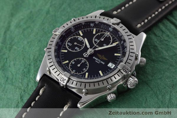 Used luxury watch Breitling Chronomat chronograph steel automatic Kal. B13 ETA 7750 Ref. A13050.1  | 152575 01