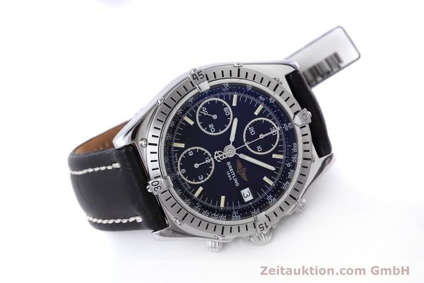 Used luxury watch Breitling Chronomat chronograph steel automatic Kal. B13 ETA 7750 Ref. A13050.1  | 152575 03