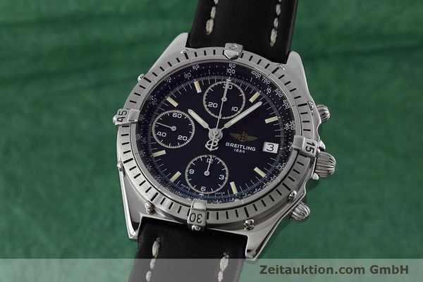 Used luxury watch Breitling Chronomat chronograph steel automatic Kal. B13 ETA 7750 Ref. A13050.1  | 152575 04