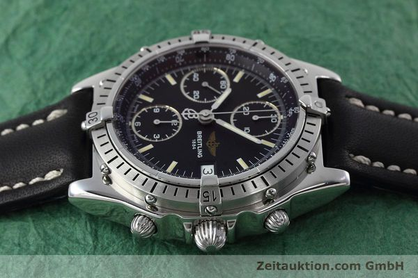Used luxury watch Breitling Chronomat chronograph steel automatic Kal. B13 ETA 7750 Ref. A13050.1  | 152575 05