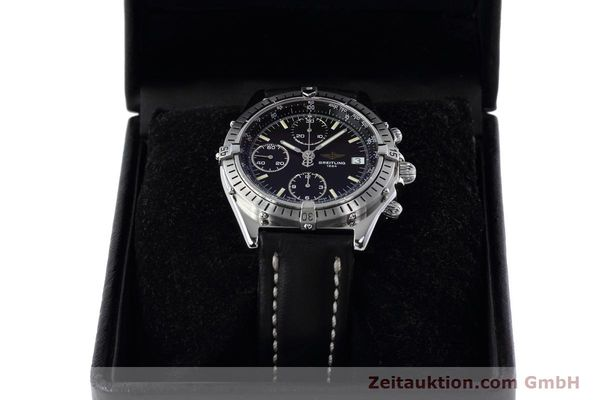 Used luxury watch Breitling Chronomat chronograph steel automatic Kal. B13 ETA 7750 Ref. A13050.1  | 152575 07