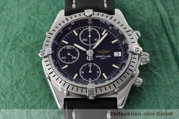 Used luxury watch Breitling Chronomat chronograph steel automatic Kal. B13 ETA 7750 Ref. A13050.1  | 152575 15