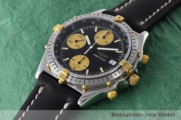 Used luxury watch Breitling Chronomat chronograph steel / gold automatic Kal. Valj.  7750 Ref. 81950  | 152585 01