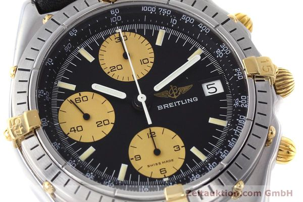 Used luxury watch Breitling Chronomat chronograph steel / gold automatic Kal. Valj.  7750 Ref. 81950  | 152585 02