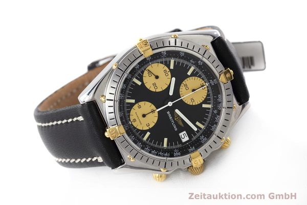 Used luxury watch Breitling Chronomat chronograph steel / gold automatic Kal. Valj.  7750 Ref. 81950  | 152585 03