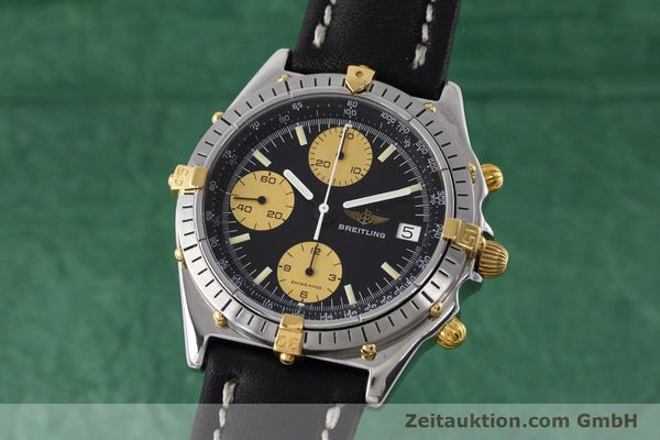 Used luxury watch Breitling Chronomat chronograph steel / gold automatic Kal. Valj.  7750 Ref. 81950  | 152585 04