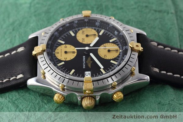 Used luxury watch Breitling Chronomat chronograph steel / gold automatic Kal. Valj.  7750 Ref. 81950  | 152585 05