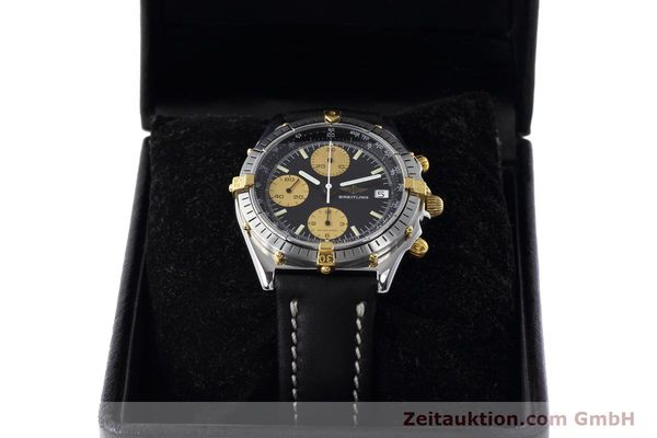 Used luxury watch Breitling Chronomat chronograph steel / gold automatic Kal. Valj.  7750 Ref. 81950  | 152585 07