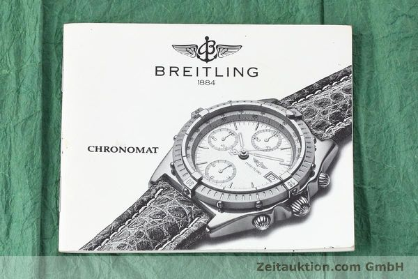 Used luxury watch Breitling Chronomat chronograph steel / gold automatic Kal. Valj.  7750 Ref. 81950  | 152585 08
