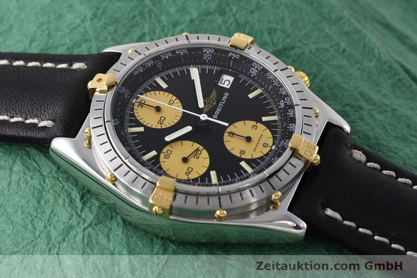 Used luxury watch Breitling Chronomat chronograph steel / gold automatic Kal. Valj.  7750 Ref. 81950  | 152585 14