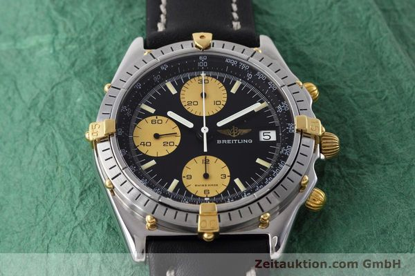 Used luxury watch Breitling Chronomat chronograph steel / gold automatic Kal. Valj.  7750 Ref. 81950  | 152585 15