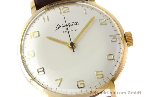 Used luxury watch Glashütte * gold-plated manual winding Kal. 70.1  | 152587 02