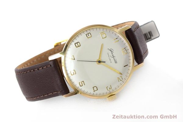 Used luxury watch Glashütte * gold-plated manual winding Kal. 70.1  | 152587 03