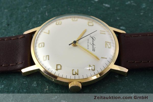 Used luxury watch Glashütte * gold-plated manual winding Kal. 70.1  | 152587 05