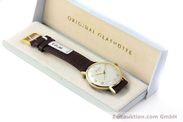 Used luxury watch Glashütte * gold-plated manual winding Kal. 70.1  | 152587 07