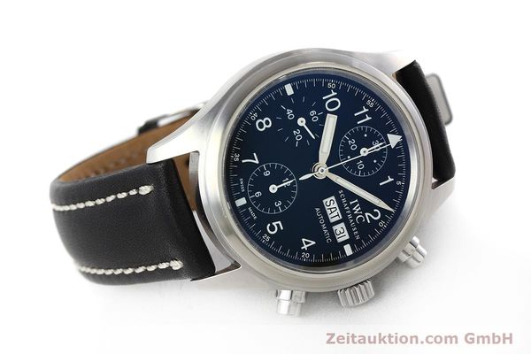 Used luxury watch IWC Fliegerchronograph chronograph steel automatic Kal. 79320 Ref. 3706  | 152588 03
