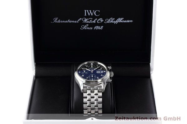 Used luxury watch IWC Fliegerchronograph chronograph steel automatic Kal. 79320 Ref. 3706  | 152588 07