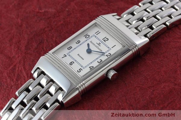 Used luxury watch Jaeger Le Coultre Reverso steel quartz Kal. 608 Ref. 260.8.08  | 152590 01