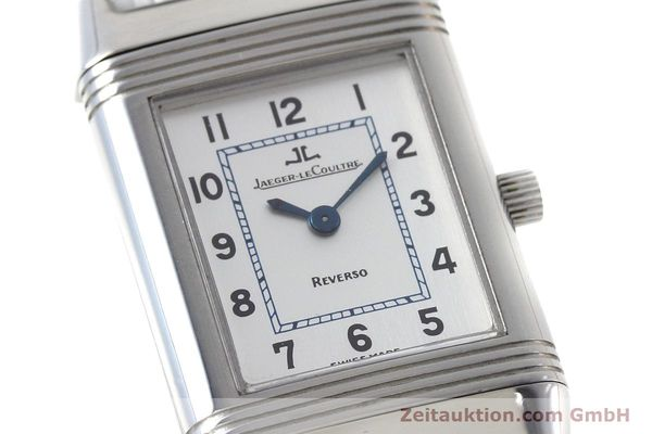 Used luxury watch Jaeger Le Coultre Reverso steel quartz Kal. 608 Ref. 260.8.08  | 152590 02