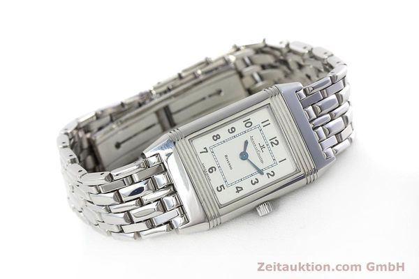 Used luxury watch Jaeger Le Coultre Reverso steel quartz Kal. 608 Ref. 260.8.08  | 152590 03