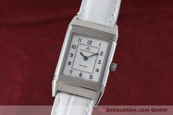 Used luxury watch Jaeger Le Coultre Reverso steel quartz Kal. 608 Ref. 260.8.08  | 152590 04