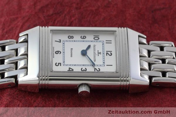 Used luxury watch Jaeger Le Coultre Reverso steel quartz Kal. 608 Ref. 260.8.08  | 152590 05