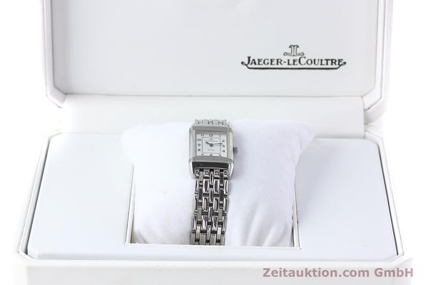 Used luxury watch Jaeger Le Coultre Reverso steel quartz Kal. 608 Ref. 260.8.08  | 152590 07