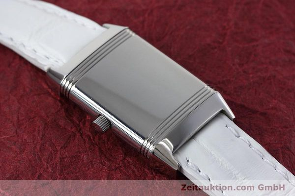 Used luxury watch Jaeger Le Coultre Reverso steel quartz Kal. 608 Ref. 260.8.08  | 152590 14