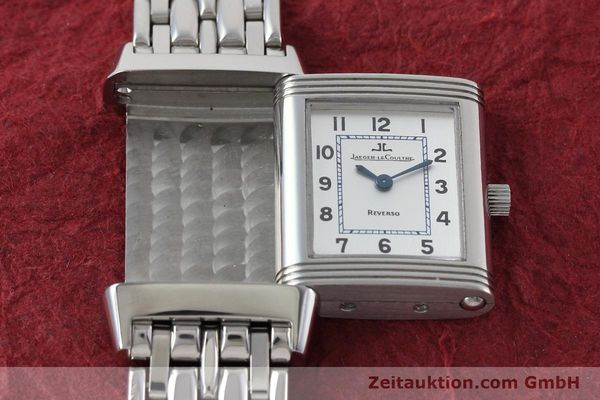Used luxury watch Jaeger Le Coultre Reverso steel quartz Kal. 608 Ref. 260.8.08  | 152590 15