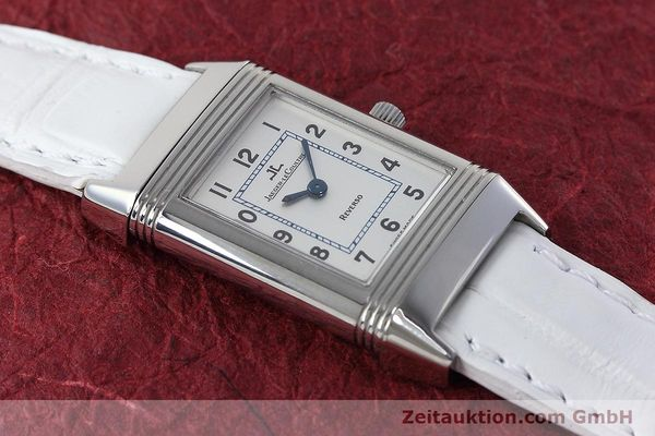 Used luxury watch Jaeger Le Coultre Reverso steel quartz Kal. 608 Ref. 260.8.08  | 152590 16
