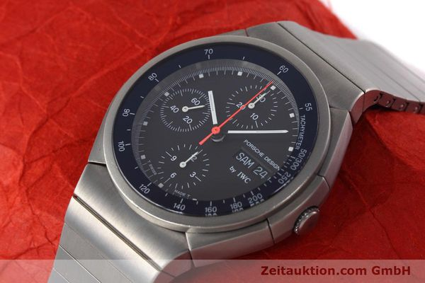Used luxury watch IWC Porsche Design chronograph titanium automatic Kal. 790 Ref. 3702  | 152592 01